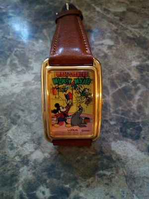 2 Disney Watches good condition , awesome collector watches for Sale in Los Angeles, CA