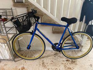 LIKE NEW Schwinn Kedzie Single-Speed Road Bike with many accessories!! for Sale in Miami Beach, FL