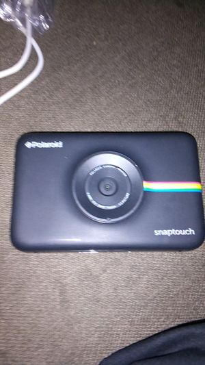Polaroid snaptouch camera instant print for Sale in Fresno, CA