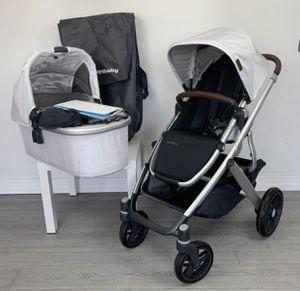 "Uppababy Vista V2 Stroller Set in ""Bryce"" for Sale in Los Angeles, CA"