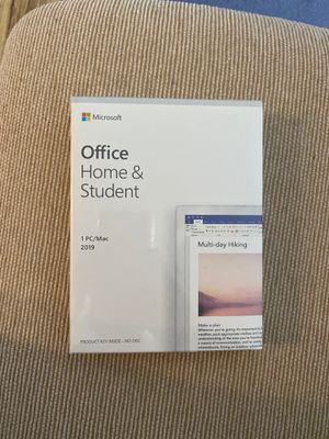Microsoft Office Home & Student 2019 for Sale in Seattle, WA