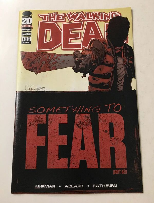 Walking Dead comic book set