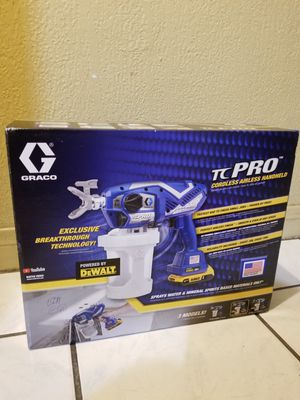 GRACO TC Pro Cordless Air Less Handheld Kit 20V for Sale in Norwalk, CA