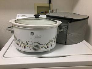 Crockpot. GE 4.5 quart for Sale in Buckeye, AZ