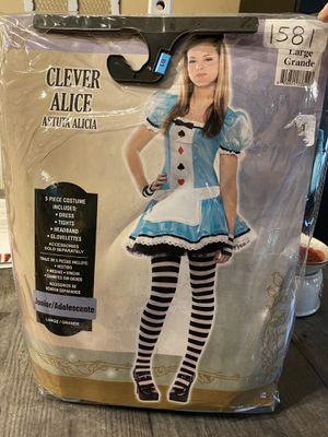Alice junior costume 11-13 for Sale in Fort Lauderdale, FL