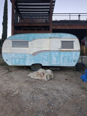 1958 corvette camping trailer for Sale in Valley Center, CA