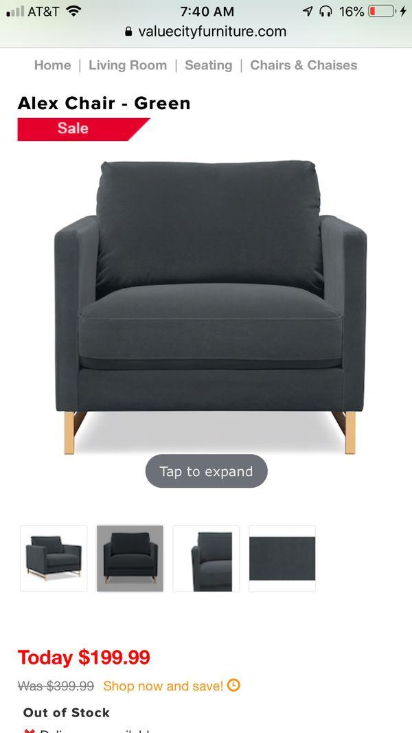 Hunter Green Accent Chair