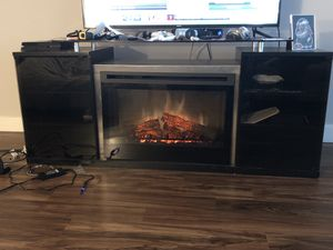 TV Stand W/ Fire Place for Sale in Philadelphia, PA