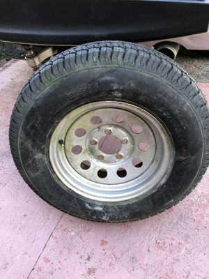 Wheel with tire 205/75/14 for Sale in Miami, FL