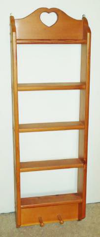 Nice Amish-style wall shelf for Sale in St. Petersburg, FL