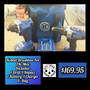 Kobalt Brushless Set for Sale in Pueblo, CO