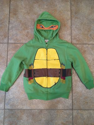 Ninja Turtles size 5/6 hoodie for Sale in Tracy, CA