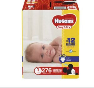 Newborn diapers huggies for Sale in Fontana, CA