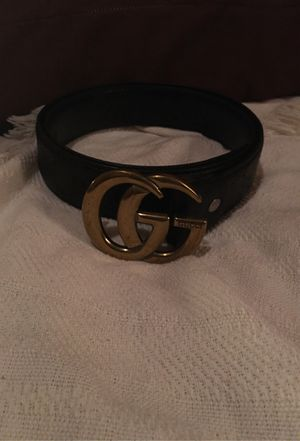 Authentic Gucci Belt with Custom holes to fit small- XXL . Made in Italy for Sale in Pflugerville, TX