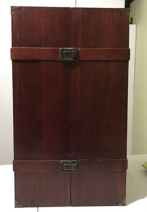 Doll Clothes Armoire for American Girl Doll for Sale in Trenton, NJ