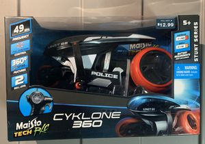 Maisto Tech R/C Cyklone 360 Stunt Series Remote Control Motorcycle Bike for Sale in Riviera Beach, FL