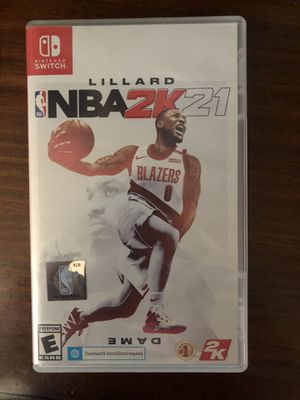 NBA 2k21 Nintendo switch. for Sale in Conway, AR