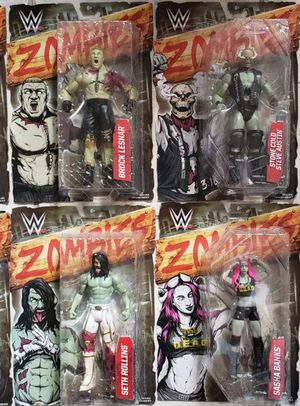 New WWE Zombies Full Set Series 2 Action Figures. for Sale in Apopka, FL