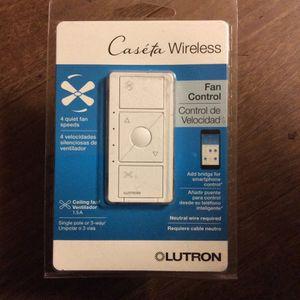 Brand New Lutron Caseta Wireless Fan Control Switch for Sale in Scottsdale, AZ