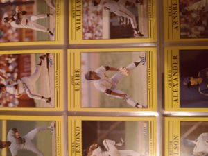 1991 flair complete set baseball cards with valuable error card for Sale in Deltona, FL