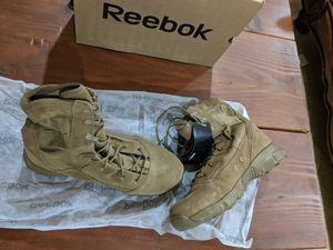 Coyote Army Boots Reebok for Sale in Hanover, MD