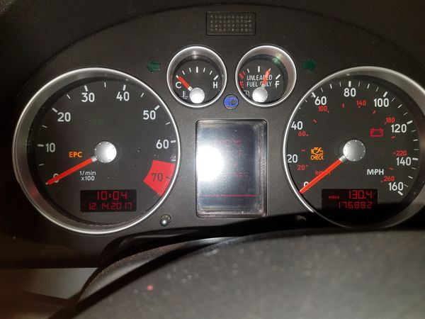 Audi TT Quattro Convertible car parts