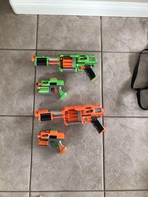 Nerf guns (set of 2) for Sale in Murrieta, CA