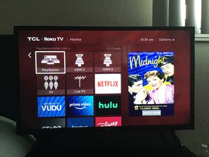 """32"" TCL Roku TV 1080 p 60 hz for Sale in San Diego, CA"