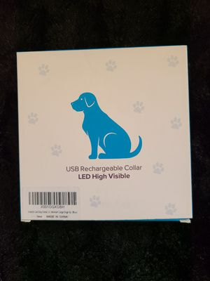 BSeen LED Dog Collar for Sale in La Mesa, CA