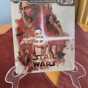 Star Wars: The Last Jedi 4K Ultra HD Steelbook for Sale in Arlington Heights, IL