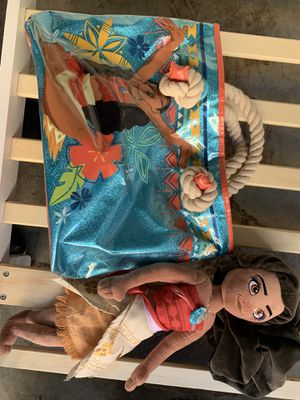 Moana bag and plushies for Sale in Chula Vista, CA