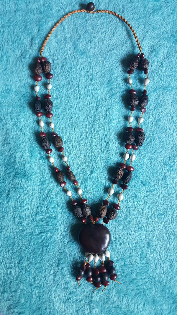 Indigenous Seed & Bean Necklace
