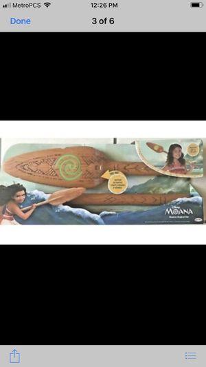 Moana oar for Sale in San Jose, CA