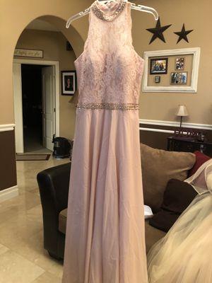 Pink (Rose) Formal Dress - Size 6 for Sale in Las Vegas, NV