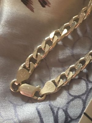 Italy 🇮🇹 Sterling Silver .925 33g THICK Chain Necklace for Sale in Phoenix, AZ