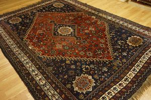 Genuine semi antique Persian Tribal Qashqai rug 7'x10' for Sale in Rockville, MD