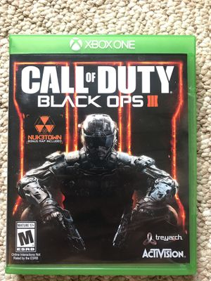 Call Of Duty Black Ops 3 for Sale in Lynchburg, VA