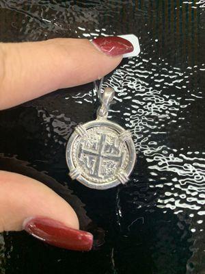 Atocha silver coin pendant for Sale in Traverse City, MI