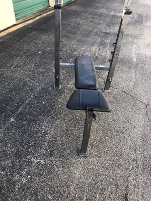 Weight bench for Sale in Fort Worth, TX