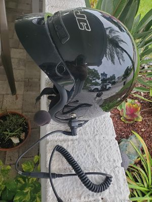 Motorcycle helmet xl with mic for Sale in Pinellas Park, FL