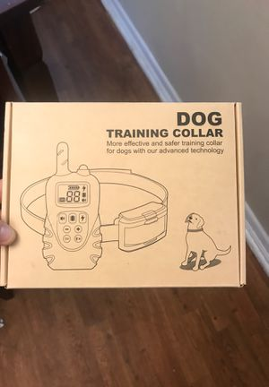Dog training collar for Sale in Jacksonville, FL