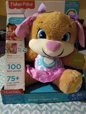 Smart stage laugh & learn teddy bear for Sale in Melvindale, MI