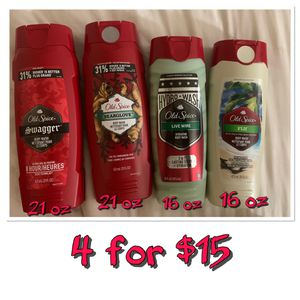 Old spice body wash bundle for Sale in San Diego, CA