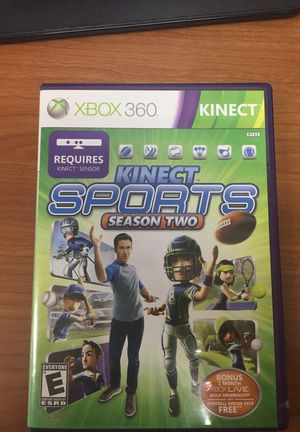 Xbox 360 Kinect sports season 2 games for Sale in Fort Meade, MD