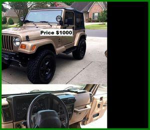 ֆ1OOO_1999 Jeep Wrengler for Sale in Pomona, CA