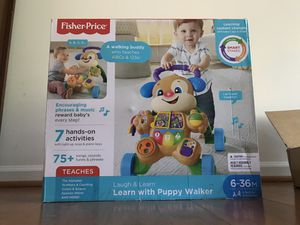 Brand new Fisher Price Baby Walker for Sale in Alexandria, VA