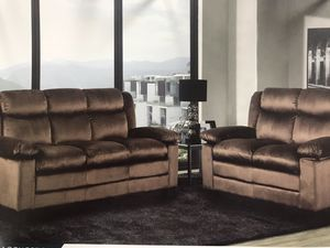 2 pcs sofa set for Sale in Columbus, OH