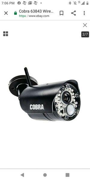 Cobra Wireless Security Camera for Sale in Tulsa, OK