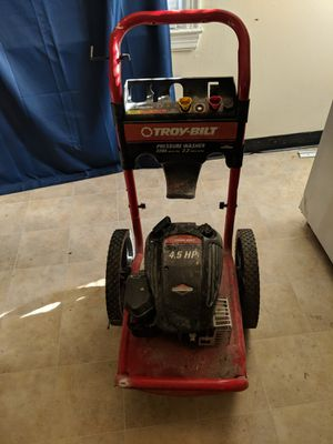 Troy bilt pressure washer for Sale in Columbus, OH