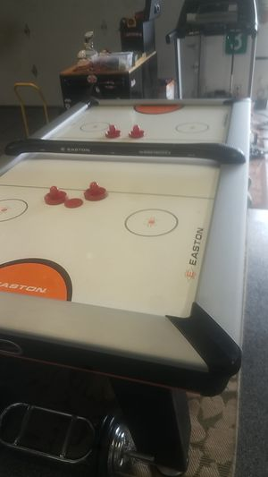 Full size hockey table game room Air powered Turbo Hockey for Sale in Vancouver, WA